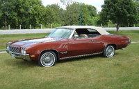 1971 Buick Skylark Custom convertible in Burnished Cinnamon (code 67), Sandlewood interior and tan top., exterior