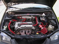 Picture of 1999 Mazda Protege 4 Dr LX Sedan, engine