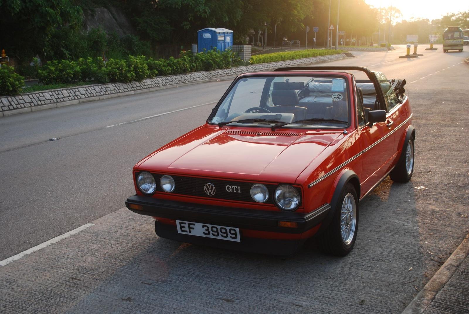 1986 Volkswagen Cabriolet - Exterior Pictures - 1986 Volkswagen Golf ...