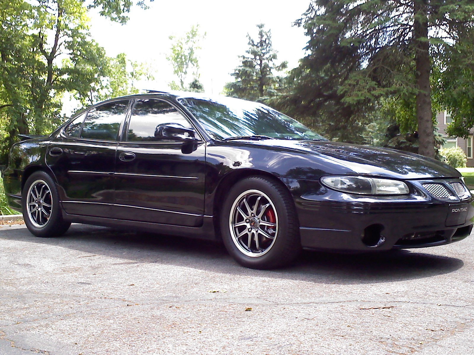 1999 Pontiac Grand Prix 4 Dr GTP Supercharged Sedan picture