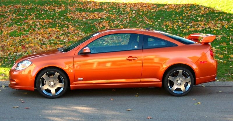 Cobalt Ss Sunburst Orange Paint Code