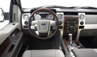 2009 Ford F-150 Platinum LWB 4WD picture, interior