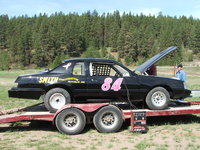 "1984 Ford Thunderbird, My first race car - ""Race for the Cure"" I am racing for breast cancer awareness in my 1984 Thunderbird, exterior, gallery_worthy"