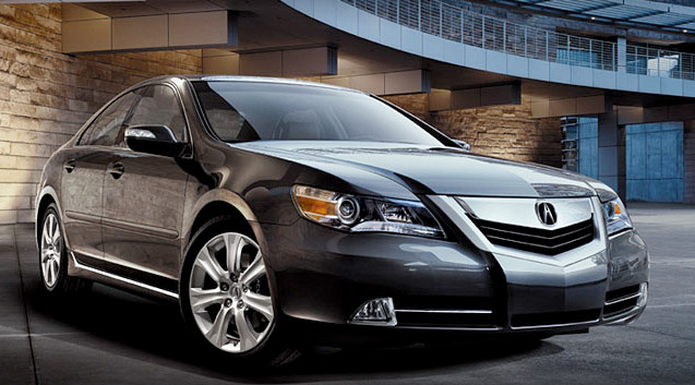 2010 Acura RL, Front Right Quarter View, exterior, manufacturer