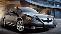 2010 Acura RL, Front Right Quarter View, manufacturer, exterior