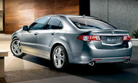 2010 Acura TSX, Back Left Quarter View, exterior, manufacturer, gallery_worthy