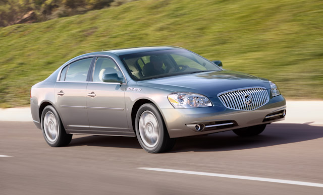 2010 Buick Lucerne, Front Right Quarter View, manufacturer, exterior