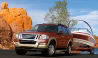 2010 Ford Explorer, Front Left Quarter View, manufacturer, exterior
