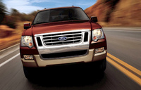 2010 Ford Explorer, Front View, manufacturer, exterior
