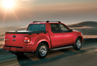 2010 Ford Explorer Sport Trac, Back Right Quarter View, manufacturer, exterior