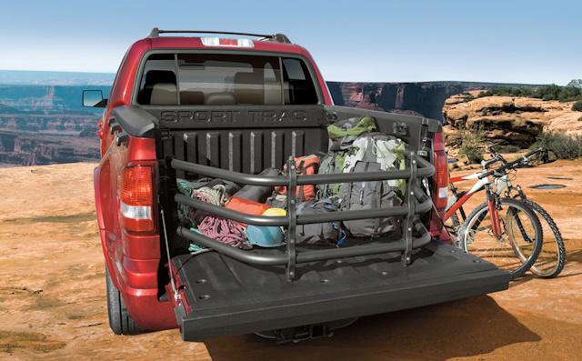 2010 Ford Explorer Sport Trac, Back View, exterior, manufacturer