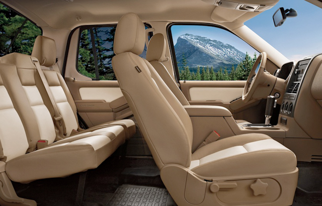 2010 Ford Explorer Sport Trac, Interior View, manufacturer, interior