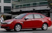 2010 Ford Focus, Left Side View, manufacturer, exterior