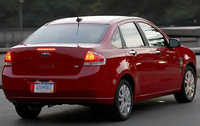 2010 Ford Focus, Back Right Quarter View, exterior, manufacturer