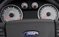2010 Ford Focus, Interior Dash View, manufacturer, interior