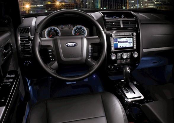 2010 Ford Escape, Interior View, interior, manufacturer
