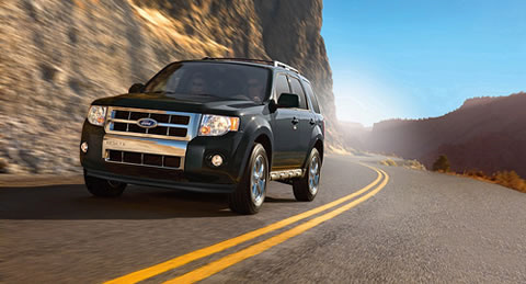 2010 Ford Escape, Front Left Quarter View, exterior, manufacturer