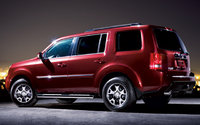 2010 Honda Pilot, Left Side View, exterior, manufacturer