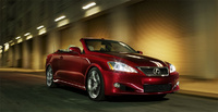 2010 Lexus IS C Picture Gallery