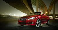 2010 Lexus IS C, Front Left Quarter View, manufacturer, exterior