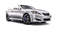 2010 Lexus IS C, Front Right Quarter View, exterior, manufacturer