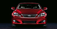 2010 Lexus IS C, Front View, manufacturer, exterior
