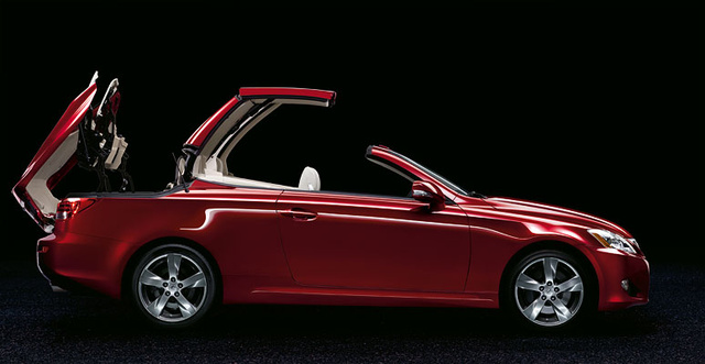 2010 Lexus IS C, Side View, exterior, manufacturer