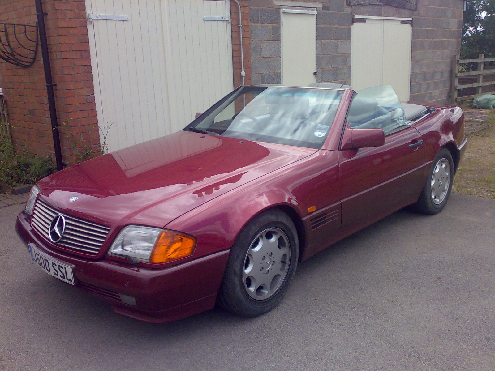 1992 mercedes benz 500 class exterior pictures cargurus for 1992 mercedes benz sl500
