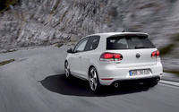 2010 Volkswagen GTI, Back Left Quarter View, manufacturer, exterior