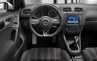 2010 Volkswagen GTI, Interior View, manufacturer, interior