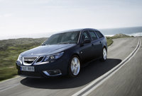 2010 Saab 9-3 SportCombi, Front Left Quarter View, exterior, manufacturer, gallery_worthy