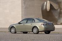 2010 Saab 9-3, Back Left Quarter View, exterior, manufacturer