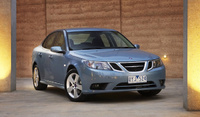 2010 Saab 9-3, Front Right Quarter View, manufacturer, exterior