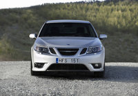 2010 Saab 9-3, Front View, exterior, manufacturer