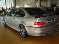 2001 BMW M3 Coupe, 2001 BMW M3 GTR Street version, exterior