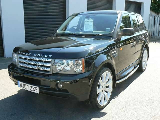 2008 land rover range rover sport overview cargurus. Black Bedroom Furniture Sets. Home Design Ideas