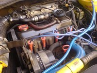 Picture of 1986 Volkswagen Golf, engine