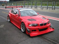 2001 BMW M3 Coupe, 2001 BMW M3 GTR Race version, exterior