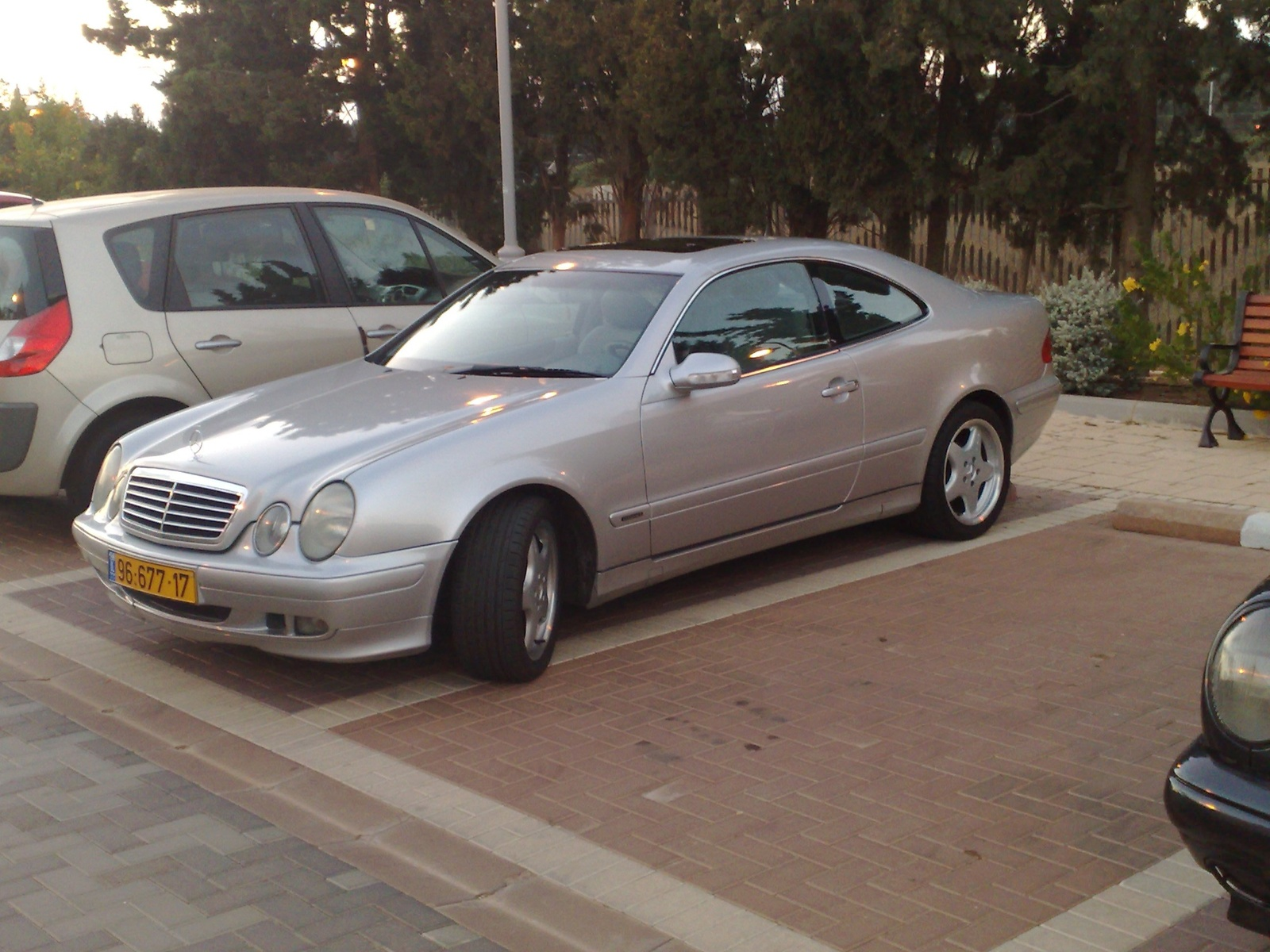 picture of 2000 mercedes benz clk class exterior. Black Bedroom Furniture Sets. Home Design Ideas