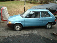 1990 Subaru Justy Overview
