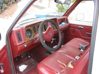 1986 Ford Ranger picture, interior