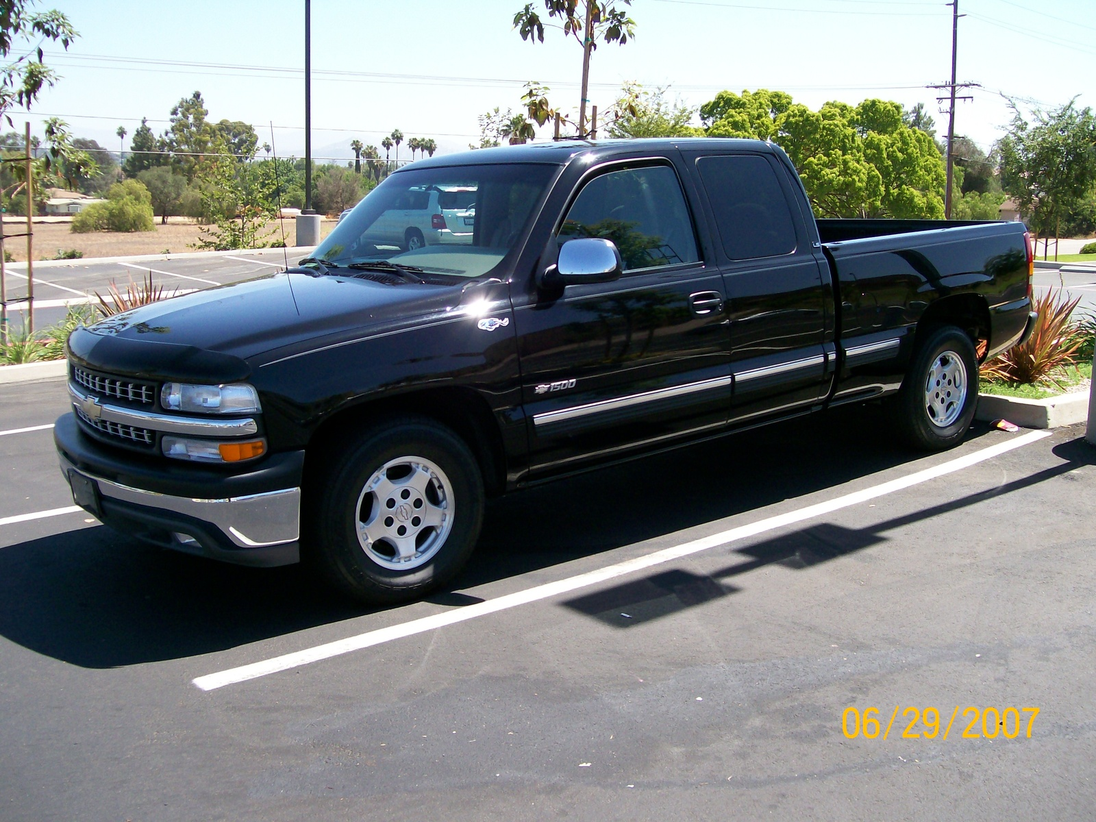 Chevy Silverado  Extended Cab Long Bed