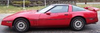 Picture of 1984 Chevrolet Corvette Coupe RWD, exterior, gallery_worthy