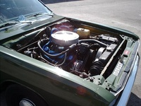 1972 Dodge Dart picture, engine