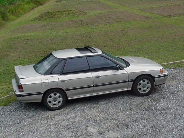 1991 Subaru Legacy 4 Dr Sport Turbo AWD Sedan picture, exterior