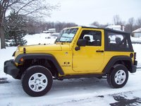 2007 Jeep Wrangler X, 2007 Jeep Wrangler, exterior, gallery_worthy