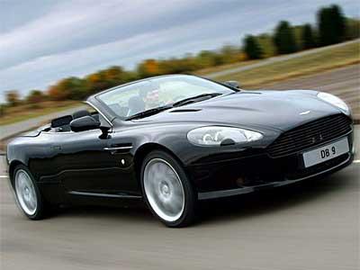 2009 Aston Martin DB9 Volante Wallpaper