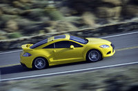 2010 Mitsubishi Eclipse, Overhead View, exterior, manufacturer