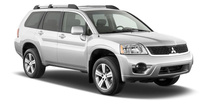 2010 Mitsubishi Endeavor, Front Right Quarter View, exterior, manufacturer