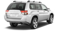 2010 Mitsubishi Endeavor, Back Right Quarter View, exterior, manufacturer